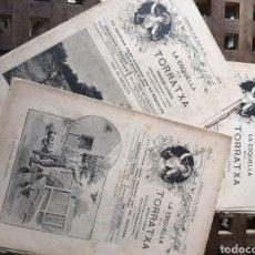 Coleccionismo de Revistas y Periódicos: REVISTAS LA ESQUELLA DE LA TORRATXA.. Lote 157920596