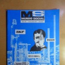 Coleccionismo de Revistas y Periódicos: Nº 215 - MS MUNDO SOCIAL - 15/11/1973 - FOMENTO SOCIAL. Lote 157954174