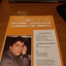 Coleccionismo de Revistas y Periódicos: REVISTA AJEDREZ JAQUE N. 176 JUNIO 1985. Lote 158173222