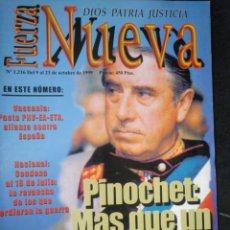 Coleccionismo de Revistas y Periódicos: REVISTA FUERZA NUEVA 1216 OCTUBRE 1999 FALANGE FRANCO. Lote 158372542