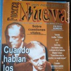 Coleccionismo de Revistas y Periódicos: REVISTA FUERZA NUEVA 1235 SEPTIEMBRE 2000 FALANGE FRANCO. Lote 158372750