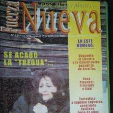 Coleccionismo de Revistas y Periódicos: REVISTA FUERZA NUEVA 1223 ENERO 2000 FALANGE FRANCO. Lote 158374618