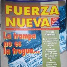 Coleccionismo de Revistas y Periódicos: REVISTA FUERZA NUEVA 1193 SEPTIEMBRE 1998 FALANGE FRANCO. Lote 158375190