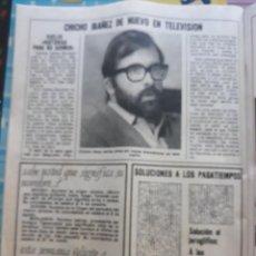 Coleccionismo de Revistas y Periódicos: CHICHO IBAÑEZ SERRADOR NARCISO. Lote 158402366