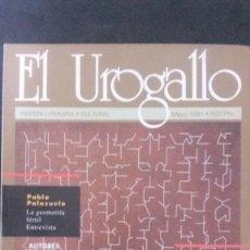 Coleccionismo de Revistas y Periódicos: EL UROGALLO Nº 60-1991-REVISTA LITERARIA-ESPECIAL FERIA DEL LIBRO. Lote 158431558