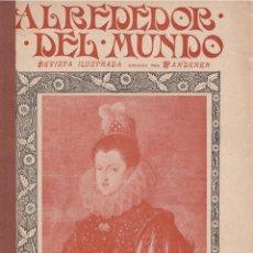 Coleccionismo de Revistas y Periódicos: REVISTA ALREDEDOR DEL MUNDO – 1899 * TUDELA * CAZA* SETAS* ASTROLOGÍA *. Lote 158333038