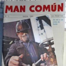 Coleccionismo de Revistas y Periódicos: MAN COMÚN N 5, NADAL 1980. Lote 158475326