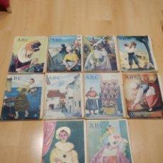 Coleccionismo de Revistas y Periódicos: ABC 1956 LOTE 10 PERIÓDICOS. Lote 158475444