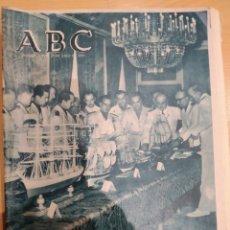 Coleccionismo de Revistas y Periódicos: ABC 21 DE JULIO DE 1955 EN EL PALACIO DEL PARDO SU EXCELENCIA EL JEFE DEL ESTADO. Lote 158477884