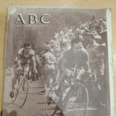Coleccionismo de Revistas y Periódicos: ABC 20 DE JULIO DE 1955 LA VUELTA A FRANCIA. Lote 158477997
