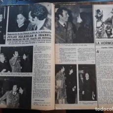 Coleccionismo de Revistas y Periódicos: JULIO IGLESIAS ISABEL PREYSLER . Lote 158480438