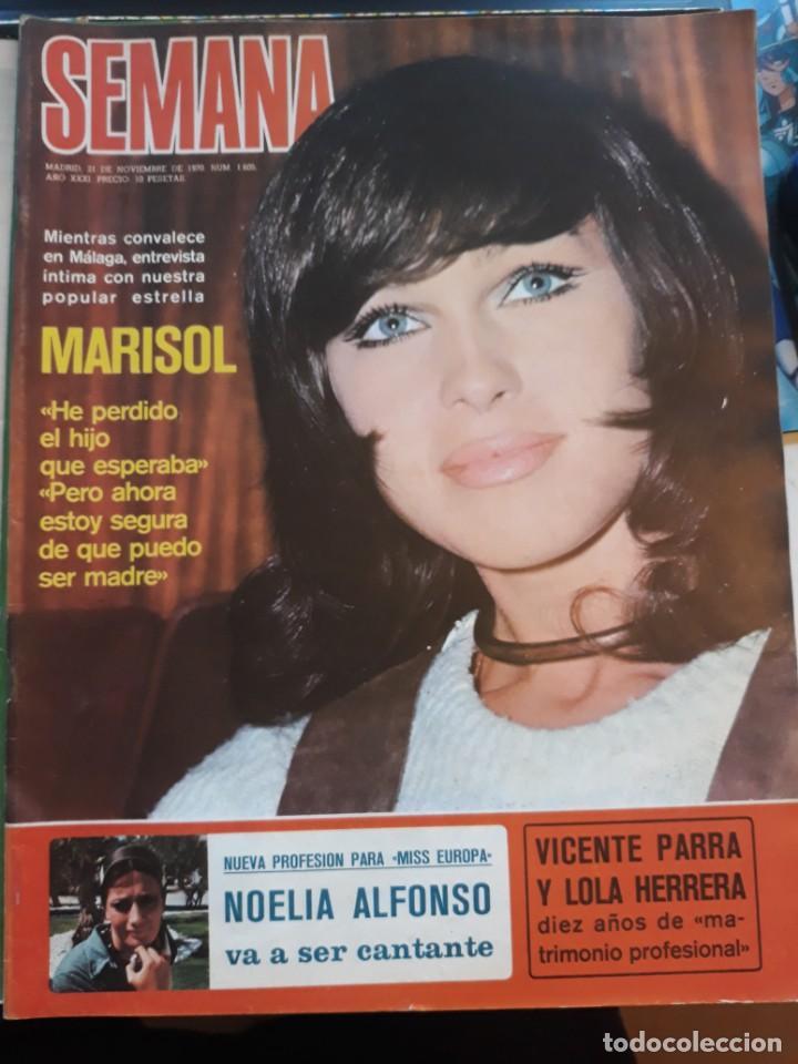 Coleccionismo de Revistas y Periódicos: PEPA FLORES MARISOL - Foto 3 - 158483406