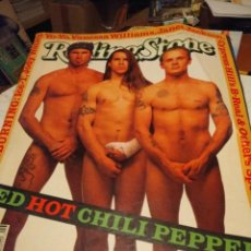 Coleccionismo de Revistas y Periódicos: ROLLING STONE : RED HOT CHILI PEPPERS + THE BLACK CROWES. Lote 158529714