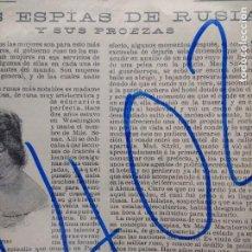 Coleccionismo de Revistas y Periódicos: ESPIAS. RUSIA. 1904.. Lote 158530654