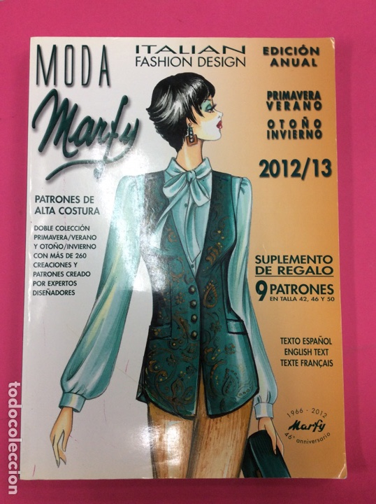 Revista De Moda Marfy 2012 13 Nº90 Sold Through Direct Sale 158583926