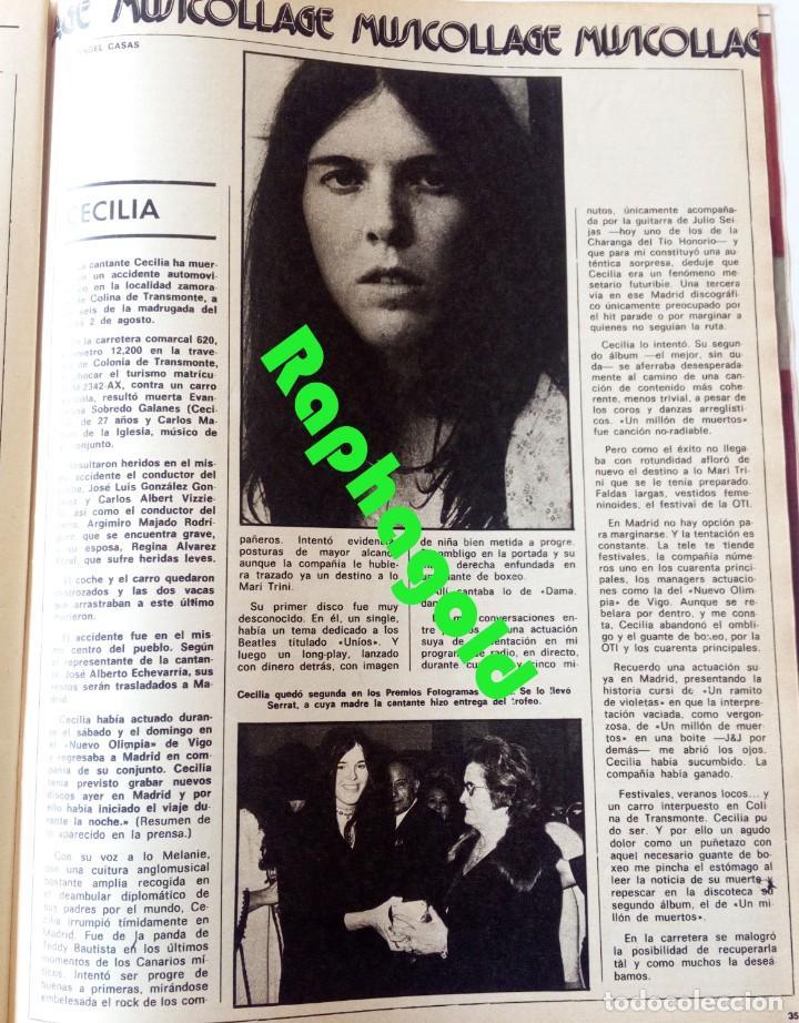Coleccionismo de Revistas y Periódicos: Revista Fotogramas nº 1452 Agata Lys Cecilia Mel Brooks Fritz Lang - Foto 3 - 158589506
