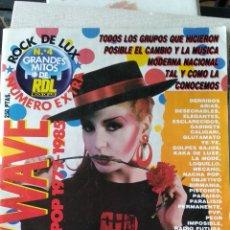 Coleccionismo de Revistas y Periódicos: ROCK DE LUX -EXTRA -NEW WAVE LA ESPAÑA POP 1977-85. Lote 158646794