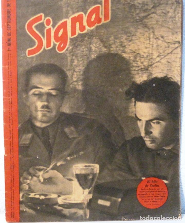 SIGNAL - REVISTA Nº 17 - SEPTIEMBRE 1941 (Coleccionismo - Revistas y Periódicos Modernos (a partir de 1.940) - Otros)