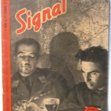 Coleccionismo de Revistas y Periódicos: SIGNAL - REVISTA Nº 17 - SEPTIEMBRE 1941. Lote 158662534