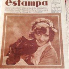 Coleccionismo de Revistas y Periódicos: REVISTA ESTAMPA 1929 BANDIDO DE TOLEDO-SALAMANCA-SARDIÑA ONDARROA- FOTO PUERTO VALENCIA EN 1880. Lote 158708602