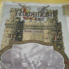Coleccionismo de Revistas y Periódicos: REVISTA NUMANCIA DE MALAGA, NÚMERO UNO, AÑO 1925.. Lote 158741478