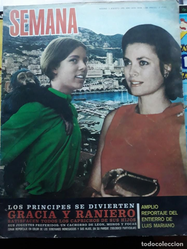 PORTADA DE GRACE KELLY Y CAROLINA DE MONACO ZOO (Coleccionismo - Revistas y Periódicos Modernos (a partir de 1.940) - Otros)