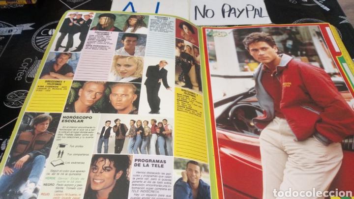 Coleccionismo de Revistas y Periódicos: Antigua carpeta agenda super pop river phoenix Tom Cruise - Foto 3 - 158778088