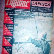 Coleccionismo de Revistas y Periódicos: REVISTA DÍGAME, 26 NOVIEMBRE DE 1968. Lote 158782952