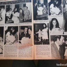 Coleccionismo de Revistas y Periódicos: ISABEL PREYSLER JULIO IGLESIAS. Lote 158874734