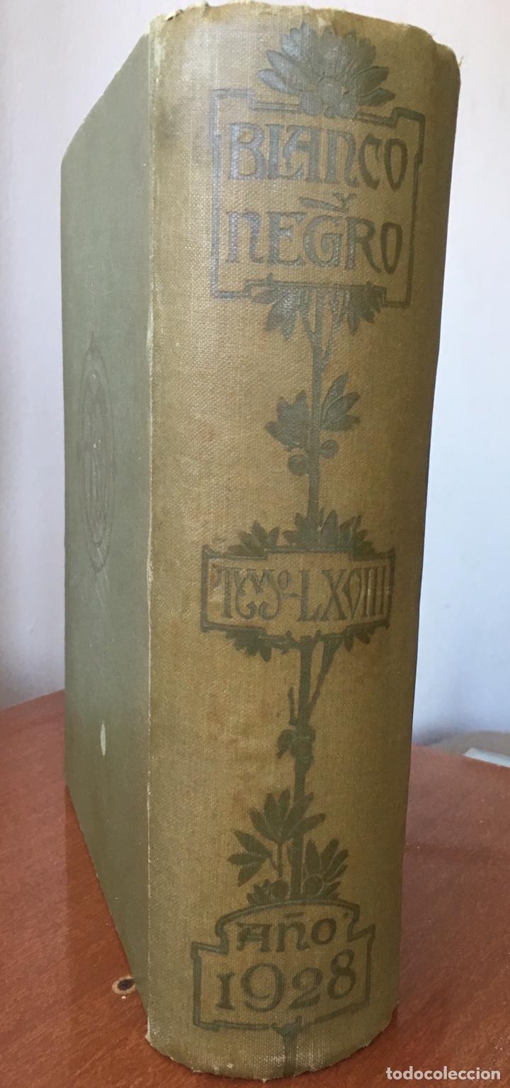 BLANCO Y NEGRO: REVISTA ILUSTRADA. TOMO LXVIII (68) (ABRIL - JUNIO, 1928) (Coleccionismo - Revistas y Periódicos Antiguos (hasta 1.939))