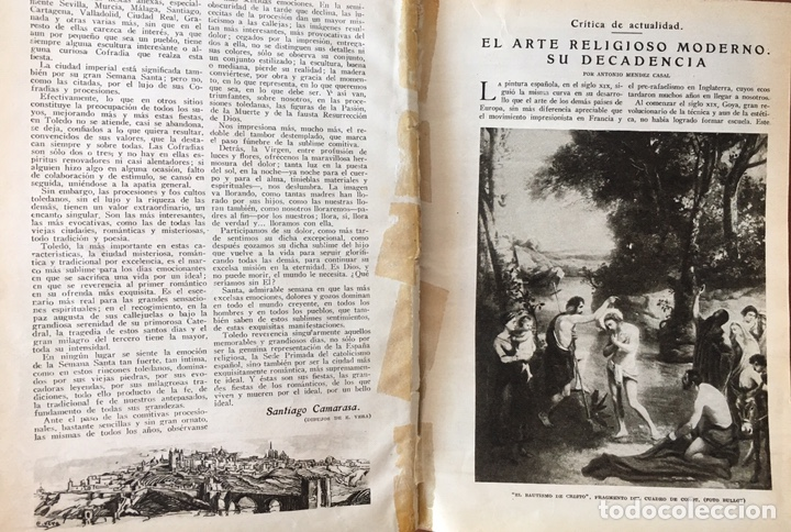Coleccionismo de Revistas y Periódicos: Blanco y negro: revista ilustrada. Tomo LXVIII (68) (Abril - junio, 1928) - Foto 4 - 158956566