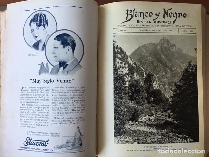 Coleccionismo de Revistas y Periódicos: Blanco y negro: revista ilustrada. Tomo LXVIII (68) (Abril - junio, 1928) - Foto 8 - 158956566