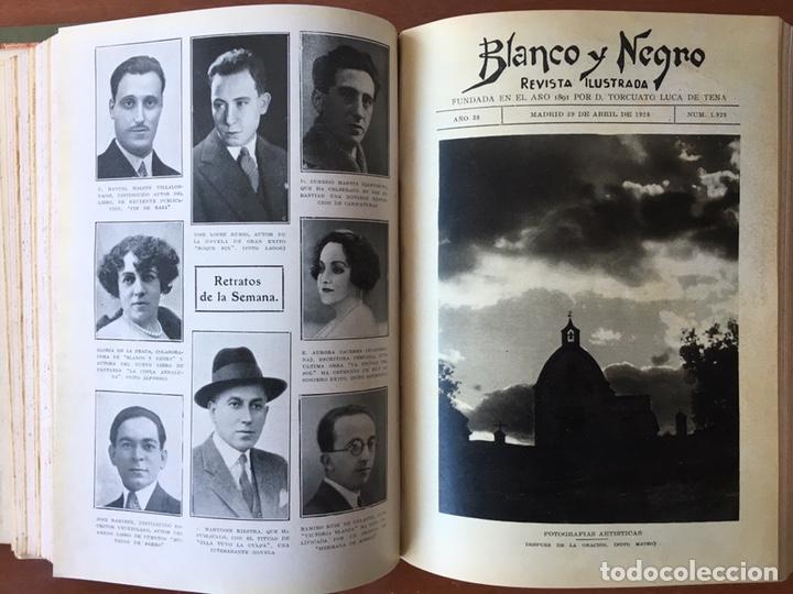 Coleccionismo de Revistas y Periódicos: Blanco y negro: revista ilustrada. Tomo LXVIII (68) (Abril - junio, 1928) - Foto 10 - 158956566