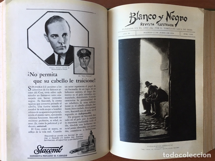Coleccionismo de Revistas y Periódicos: Blanco y negro: revista ilustrada. Tomo LXVIII (68) (Abril - junio, 1928) - Foto 15 - 158956566