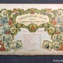 Coleccionismo de Revistas y Periódicos: FALLAS. VALENCIA. COLECCIÓN DE AUCAS. FALLA JOAQUIN COSTA - CONDE ALTEA. SERIE I (A.1947). Lote 158983326