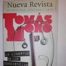 Coleccionismo de Revistas y Periódicos: NUEVA REVISTA DE POLÍTICA, CULTURA Y ARTE. N° 146. TOMÁS MORO.. Lote 159039001