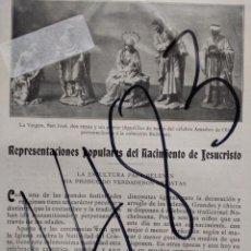 Coleccionismo de Revistas y Periódicos: NACIMIENTOS. 1902. . Lote 159133802