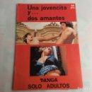 Coleccionismo de Revistas y Periódicos: TANGA Nº 1 UNA JOVENCITA Y DOS AMANTES ( REVISTA EROTICA DE LOS 70 ). Lote 159139082