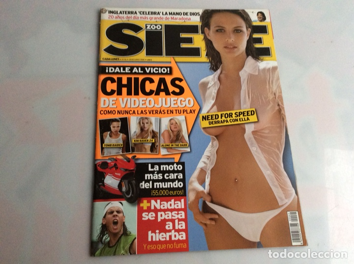 ZOO SIETE Nº 64 JUNIO 2006 - REPORTAJES, CHICAS, DEPORTE, (Coleccionismo - Revistas y Periódicos Modernos (a partir de 1.940) - Otros)