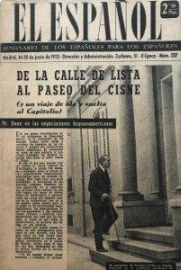 1953 Semanario El Español Nº 237