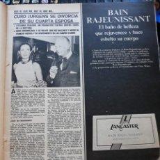 Coleccionismo de Revistas y Periódicos: CURD JURGENS. Lote 159386978