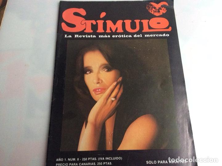 STIMULO Nº Nº 8 (REVISTAS EROTICAS DE LOS 80) (Coleccionismo - Revistas y Periódicos Modernos (a partir de 1.940) - Otros)