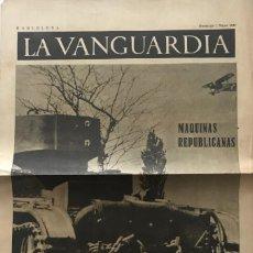 Coleccionismo de Revistas y Periódicos: 1937 LA VANGUARDIA 32,7X49 CM. Lote 159407186