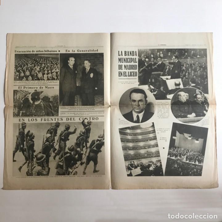 Coleccionismo de Revistas y Periódicos: 1937 La Vanguardia 32,7x49 cm - Foto 3 - 159407186