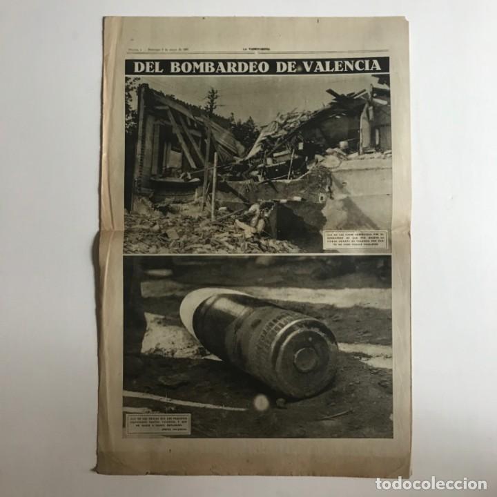 Coleccionismo de Revistas y Periódicos: 1937 La Vanguardia 32,7x49 cm - Foto 4 - 159407186