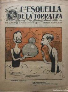 1918 L'Esquella de la Torratxa. Periodic humorístic Any XL Núm. 2066