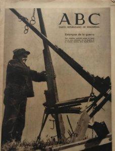 1937 ABC. Diario Republicano de izquierdas 24,5x32 cm