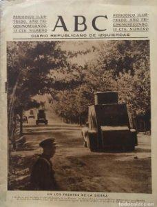 1936 ABC. Diario Republicano de izquierdas 24,5x32 cm