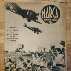 Coleccionismo de Revistas y Periódicos: MARCA, SEMANARIO GRÁFICO DE LOS DEPORTES,1939,NUMERO 38. Lote 39520167