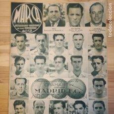 Coleccionismo de Revistas y Periódicos: MARCA, SEMANARIO GRÁFICO DE LOS DEPORTES,1939,NUMERO 37. Lote 39520180